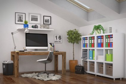 ist das home office das b ro der zukunft. Black Bedroom Furniture Sets. Home Design Ideas