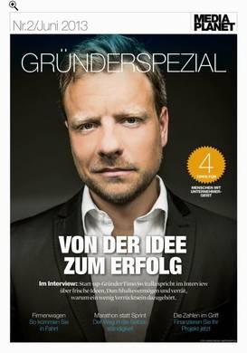 Gründerspezial 2013 - FAZ-Sonderausgabe